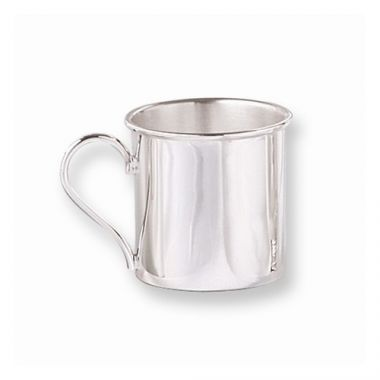 Quality Gold Sterling Silver Baby Cup