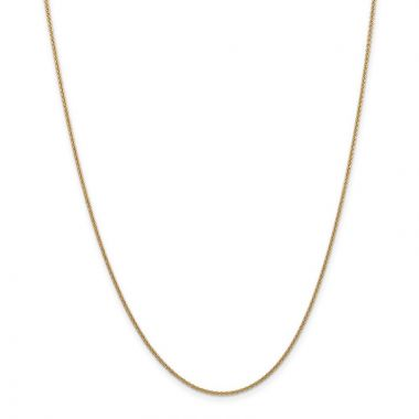 Quality Gold 14k 1.5mm Cable Chain Anklet